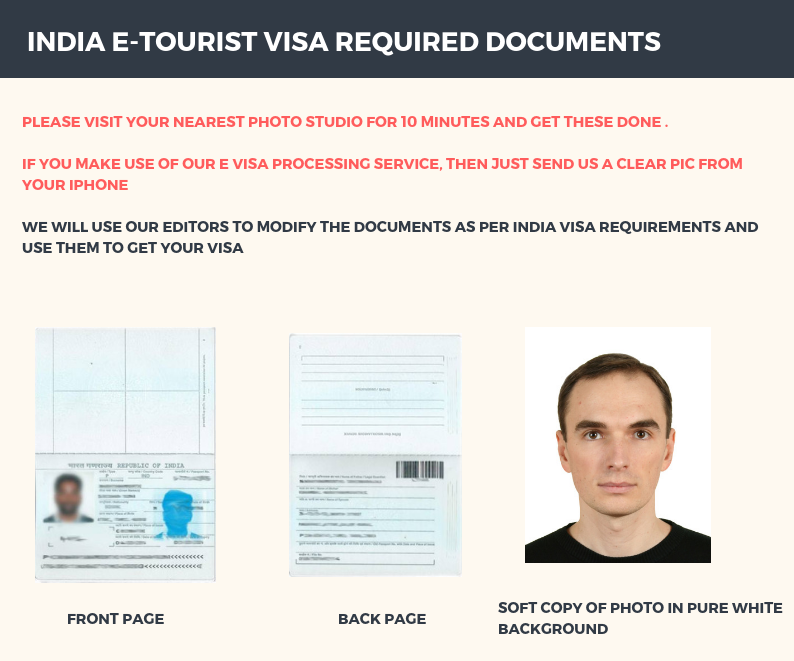 India E-Tourist visa for UK citizens - In two days
