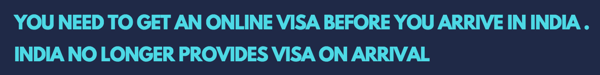 get a visa on arrival in India