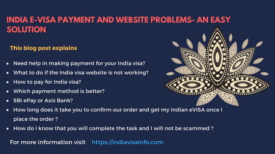 India E-Visa Payment Issues | Easy Solution to Get India