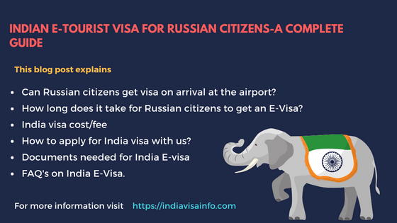 Indian E-tourist visa for Russian citizens (1)