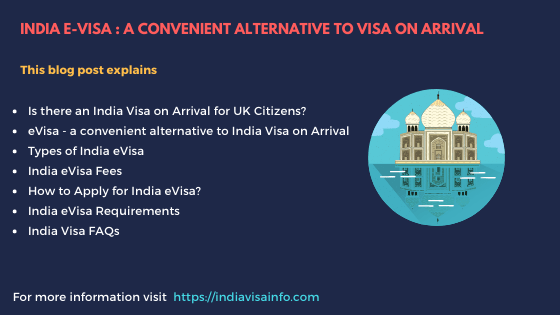 India Visa on Arrival for US Citizens