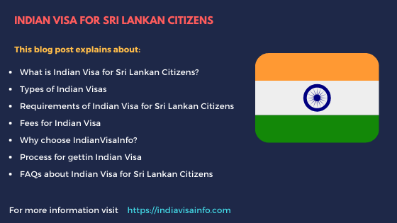 indian visa for sri lankan citizens